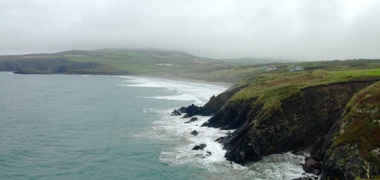 Towards Whitesands Bay.