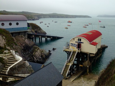 St. Justinian; lifeboat station.