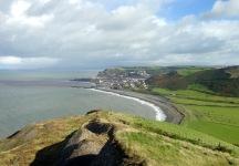 Last hill before Aberystwyth.