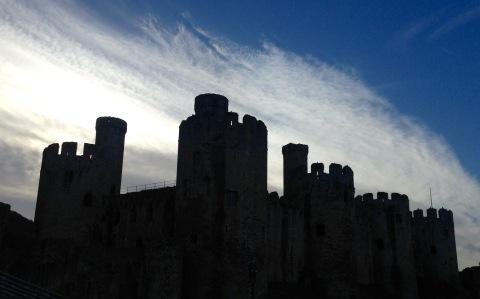 Conwy Castle.