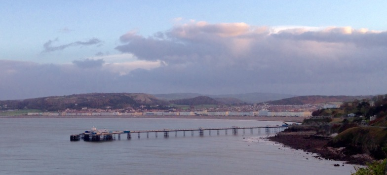 Descending to Llandudno from the Great Orme.