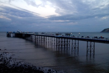 The pier at Llandudno.