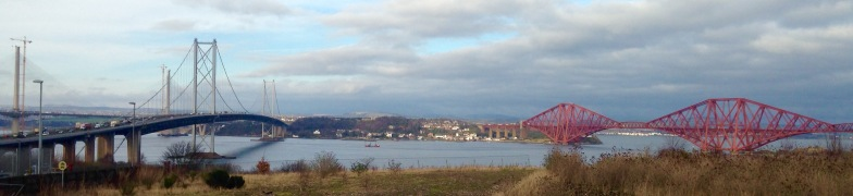 Bridges across the Firth of Forth.