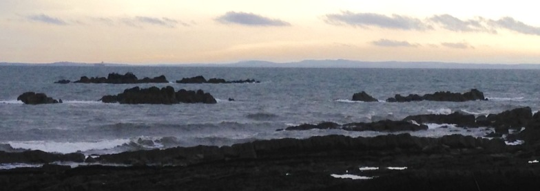 Rocky coast near Kirkcaldy.