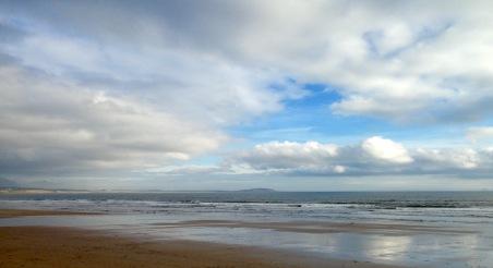 Beach near Leven.