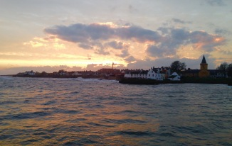 Sunset, Anstruther.