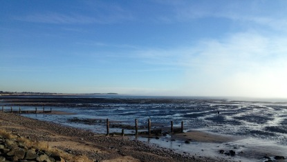 Low tide, near Carnoustie.