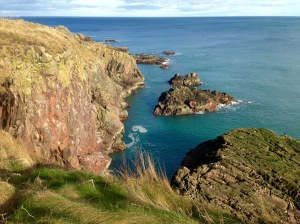 Coastal path near Aberdeen.