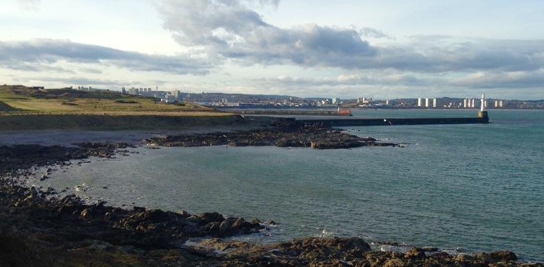 Approaching Aberdeen.