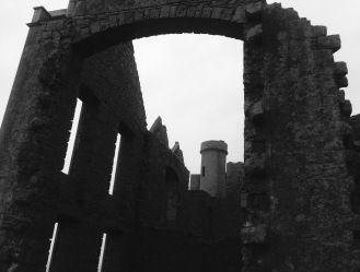 Slains Castle: reputed to be the inspiration for Bram Stoker's Dracula.