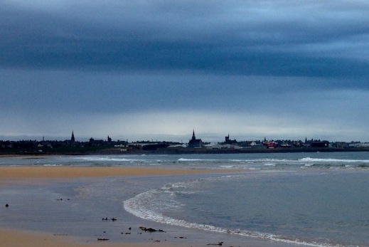 Fraserburgh ... at last! Evening light.
