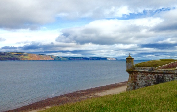 View from Fort George.