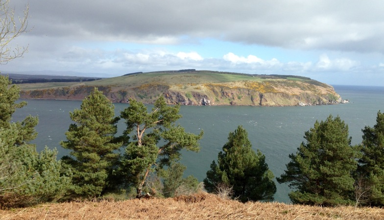 The Sutors of Cromarty from south to north.