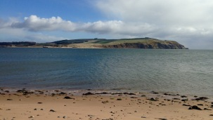 The Sutors of Cromarty: looking across the mouth of Cromarty Firth from south to north.