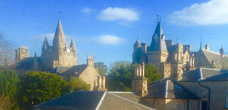 The Royal Burgh of Tain, looking rather Hogworts.