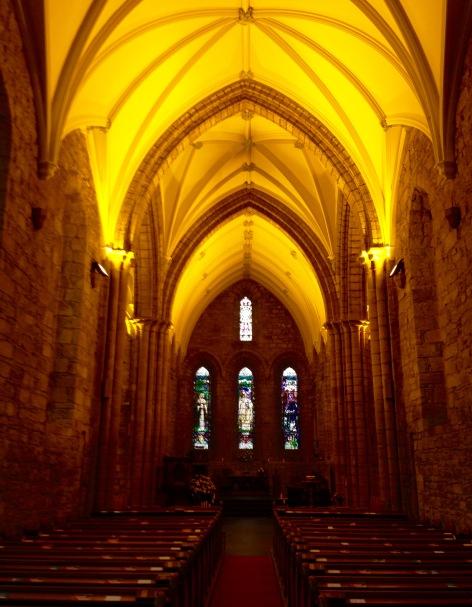 Dornoch cathedral.