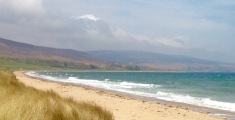 Beach near Brora.