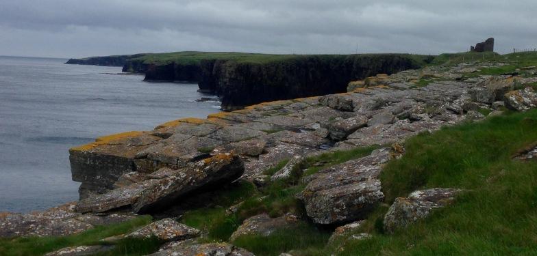 Cliffs near Wick.