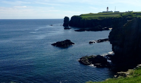 Noss Head Lighthouse.
