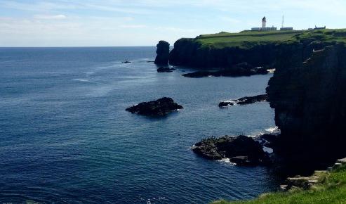 Noss Head Lighthouse.
