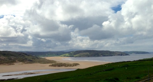 The beach at Bettyhill.