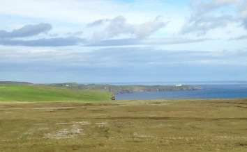 Looking towards Strathy Point.