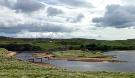 Bridge over the Halladale River near Melvich.