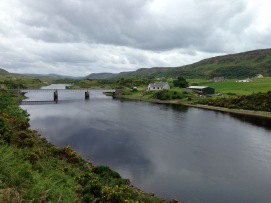Bridge over the River Naver, Invernaver, near Bettyhill.
