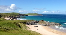 Sango Bay at Durness.