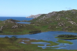 Near the mouth of Loch Hope.