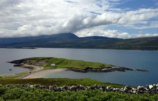Walking round Loch Eribolll; Ard Neackie.