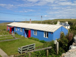 Youth Hostel at Durness, my home for a week.