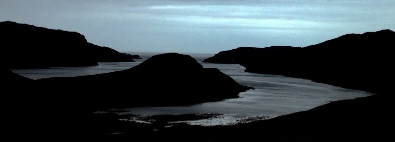Looking towards the mouth of Loch Inchard from Kinlochbervie.