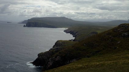 Looking east from Cape Wrath towards the Cliffs of Clo Mor.