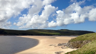 Kyle of Durness, low tide.
