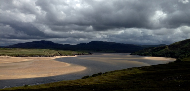 The Kyle of Durness.