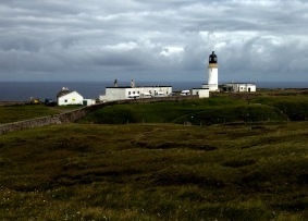 Stevenson lighthouse at Cape Wrath.