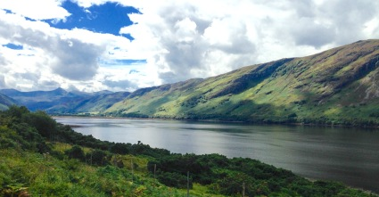 Walking beside Loch Broom from Ullapool to Braemore Junction.