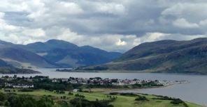 Approaching Ullapool from the North.