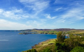 Looking over Loch Ewe, near Aultbea, towards Mellon Charles.