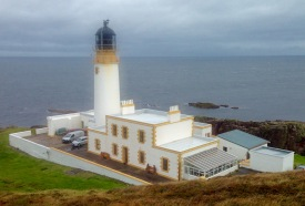 The Stevenson lighthouse (1912) at Rua Reidh.