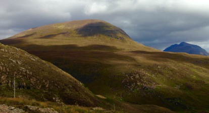 The hills above Upper Loch Torridon.