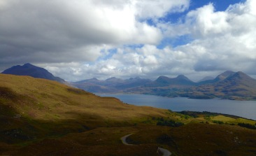 Descending to Torridon.
