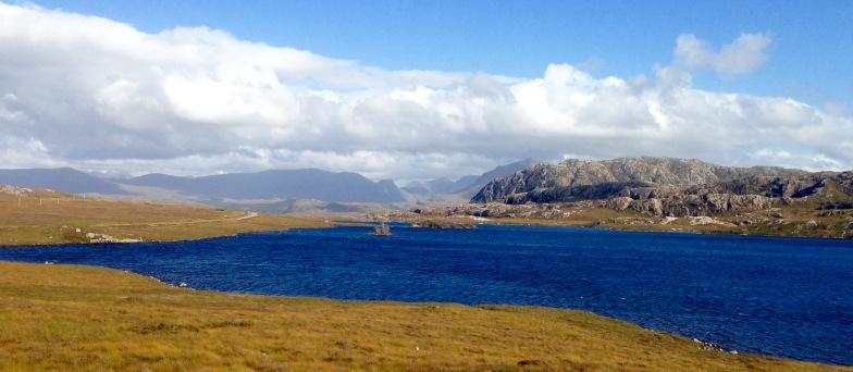 Homeward bound: last view of Loch Tollaidh