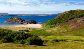 Gruinard Bay.