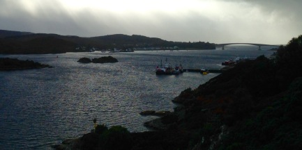 Heading south from Kyle of Lochalsh.