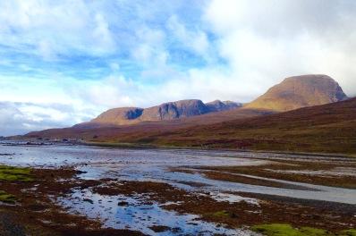 Top end of Loch Kishorn.