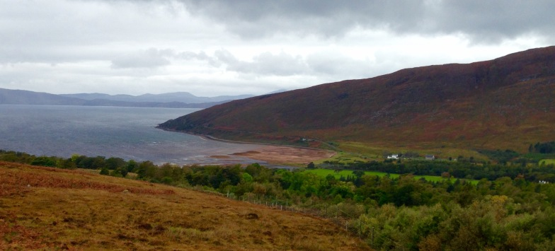 Descending to Applecross. The village was smaller than I had anticipated.