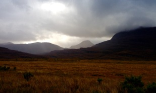 Early start from the Youth Hostel at Torridon.