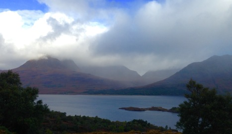 Morning mist, Loch Torridon.